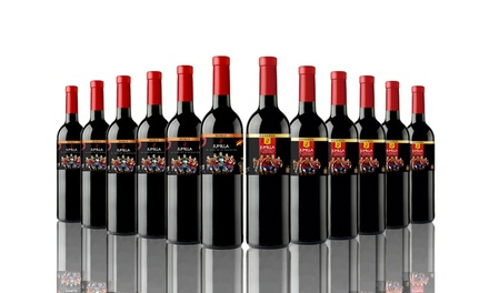12 (£44.99) or 16 (£54.99) Bottles of Mixed Red Wine With Free Delivery(64% Off)