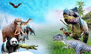 """הדרן: תערוכת """"עידן הקרח והדינוזאורים"""" במוזיאון א""""י בת""""א: כרטיס ליחיד ב-49 ₪ או כרטיס משפחתי ב-169 ₪ כולל שבתות וחגים!"""