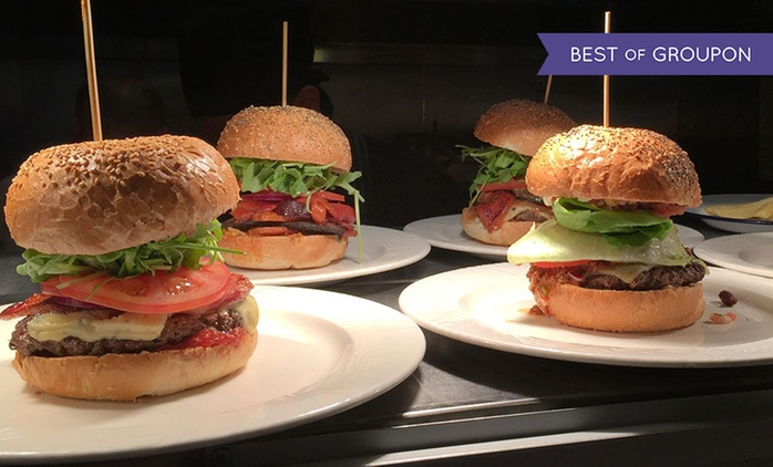 Two Burgers with Side of Chips at Choice of Three Bobos Burgers Locations (Up to 50% Off)