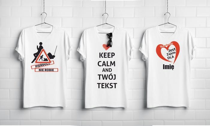 4MyArt: Od 25 zł: personalizowana koszulka bawełniana – wiele wzorów do wyboru na 4MyArt.pl (do -58%)