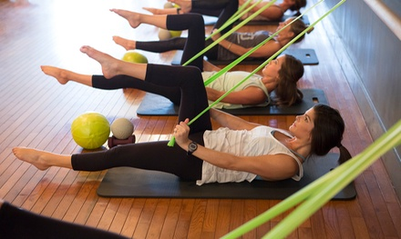 Five Barre Fitness Classes or Four Weeks of Unlimited Barre Classes at Neighborhood Barre (Up to 72% Off)