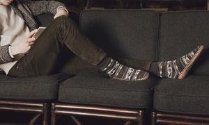MUK LUKS Men's Slipper Socks