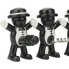Cheery Chap Bottle Opener, Stopper, and Corkscrew Set (3-Piece)