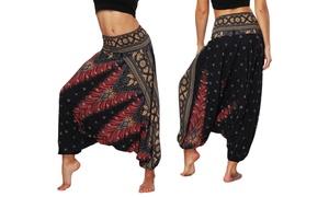 Pantalon sarouel large Harem