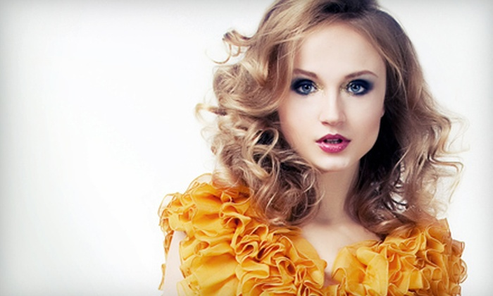 Jece - Old Market Place: Haircut and Style with Optional Partial Highlights or Color Treatment at Jece (Up to 63% Off)