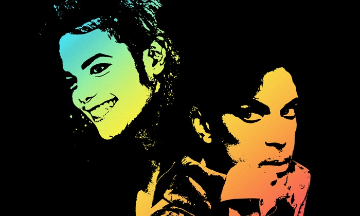 The Prince and Michael Jackson Experience - Coda: The Prince and Michael Jackson Experience on April 24 at 8 p.m.