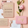 50% Off Custom Wedding Invitations from Wedding Paper Divas