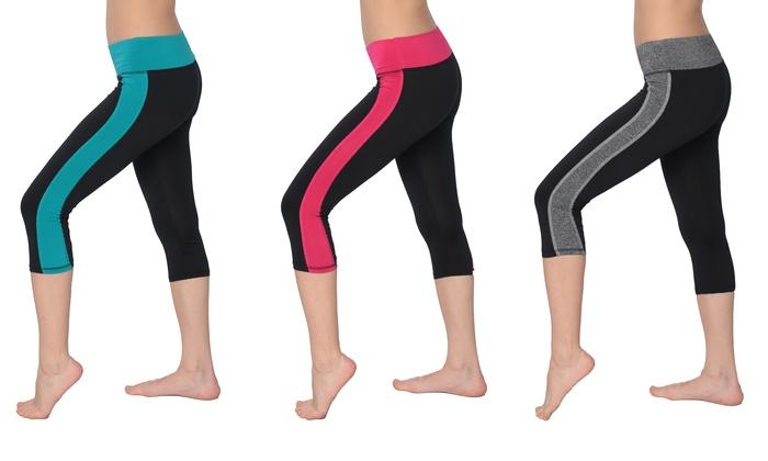 Athletic Capri Leggings