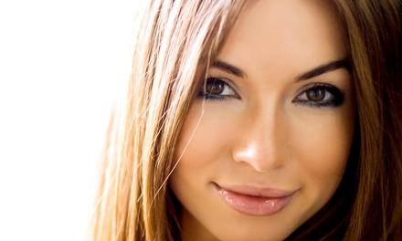 Haircut and Blow-Dry or Partial Highlights or Sparks at Colors & Shapes (Up to 57% Off)