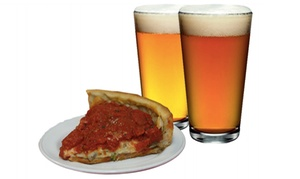 60% Off Craft Beers and Slice of Pizza at Berkeley Pizza at Berkeley Pizza, plus 6.0% Cash Back from Ebates.