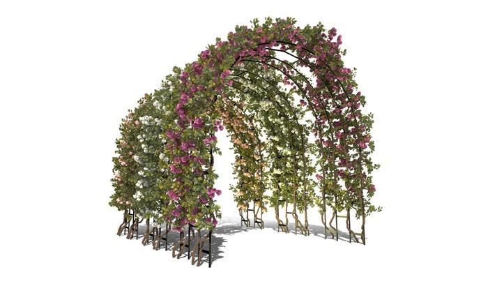 Arco per piante