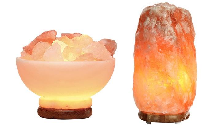 Himalayan Rock Salt Lamp Groupon