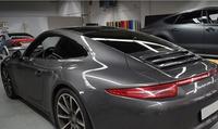 Pkw-Scheibentönung für 1 Heckscheibe + 2 feststehende Seitenscheiben in Schwarz bei Boombastic Car Design (75% sparen*)