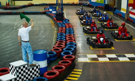 25-Lap Karting Experience for Up to Six at Premier Karting
