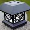 Solar Powered Fence Post Light