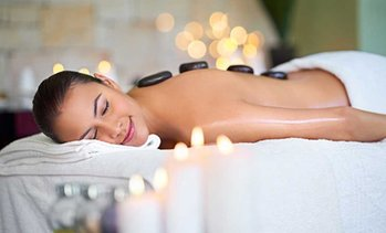 Up to 58% Off Hot Stone Massage Package