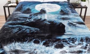 Lavish Home Heavy Faux Mink Blanket