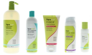 DevaCurl Low No Poo Cleanser, Milk Conditioner, or Styler