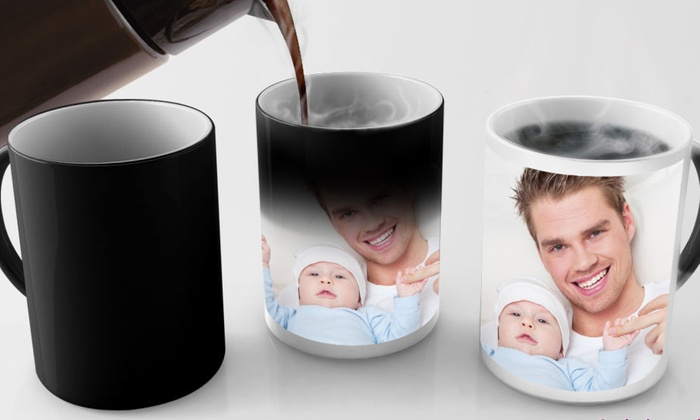 Printerpix: Custom Photo Mugs and Magic Photo Mugs from $5 by PrinterPix (Up to 80% Off)