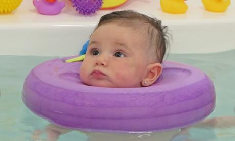 Spa para bebés con una sesión de hidroterapia y un masaje relajante y/o anticólico desde 34,95 € en Baby Spa Madrid Oferta en Groupon