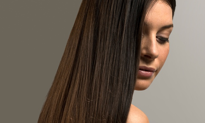 Amy's Hair Studio - Galloway Ridge: Haircut and Style with Optional Partial Highlights or a Smoothing Treatment at Amy's Hair Studio (Up to 66% Off)