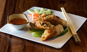 SOMI Vietnamese Bistro: Upscale Vietnamese Food at SOMI Vietnamese Bistro (Up to 40% Off). Two Options Available.
