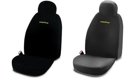Fodera sedile singola Goodyear universale in tessuto traspirante disponibile in 3 colori