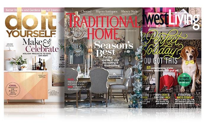 home decor magazine subscription procirc promotions groupon
