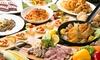 Cafe dining Glanz - 神戸市中央区: 50%OFF【2,490円】チキン・ポーク・ビーフ3種のお肉料理を食す≪熟成肉のローストビーフなど8品+セルフ飲み放題120分≫ @Cafe dining Glanz