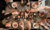 Skandinavisches Weihnachts-Buffet