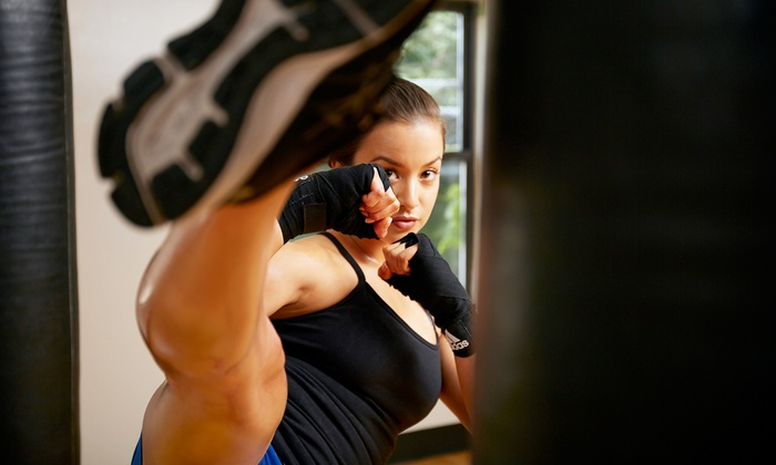Fitness Kickboxing America: Five or 10 Kickboxing Classes at Fitness Kickboxing America (Up to 86% Off)