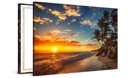 Impresión personalizable sobre lienzo a elegir tamaño desde 2,99 con Picanova