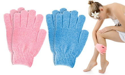 1, 2 ou 4 paires de gants exfoliants