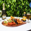 Sharing Platter and Wine for Two
