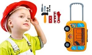 Valisette outils bricoleur enfant