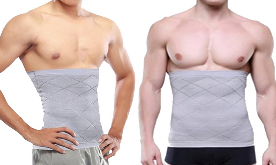 Men's Compression Waist Body Shaper From £7.99