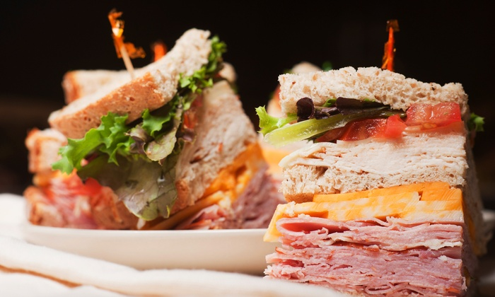 The Woodside Deli - Multiple Locations: Deli Food and Catering at The Woodside Deli (40% Off). Two Options Available.