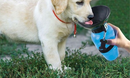 TwoinOne Pet Water Bottle and Bowl