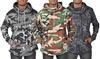 ARSNL Men's Camouflage Pullover Hoodies