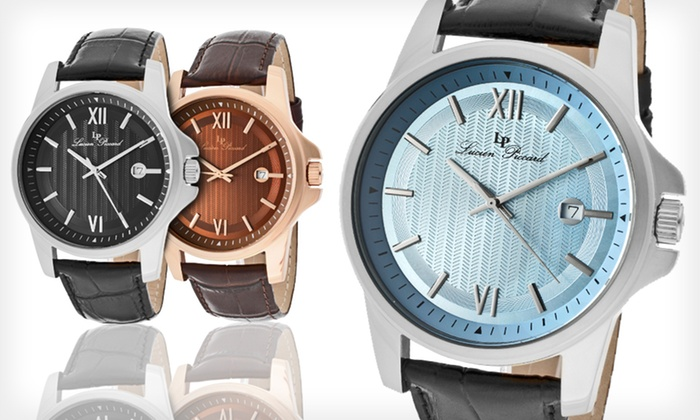 lucien piccard men s watches groupon goods lucien piccard breithorn classic watches lucien piccard breithorn classic men s watches up to 90