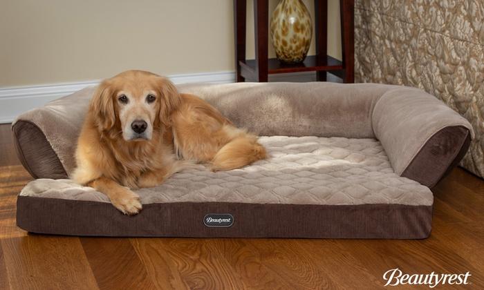 Beautyrest Super Lux Dog Bed