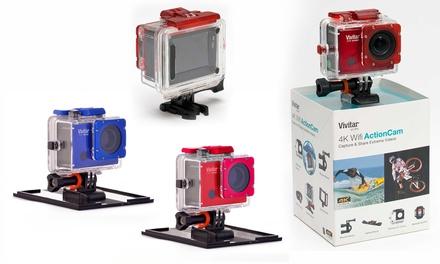 Caméra Vivitar DVR914HD Action, Wifi, Ecran LCD 4K Ultra HD