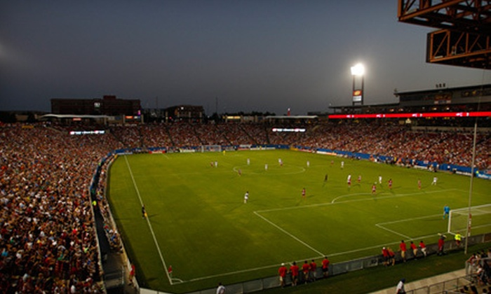 FC Dallas - Toyota Stadium: FC Dallas Soccer Game Package with On-Field Experience on October 28 at 6 p.m. at FC Dallas Stadium (Up to 71% Off)