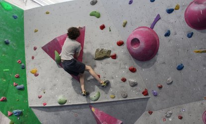 image for 60- or 90-Minute Rock Climbing Party for Up to Ten Kids at City Bloc (Up to 50% Off)