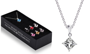 (Exclusive)  7 pendentifs cristaux Swarovski® -89% réduction
