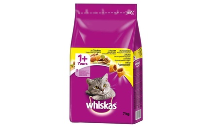 Whiskas 1+ Cat Complete Dry with Chicken 7kg Pack