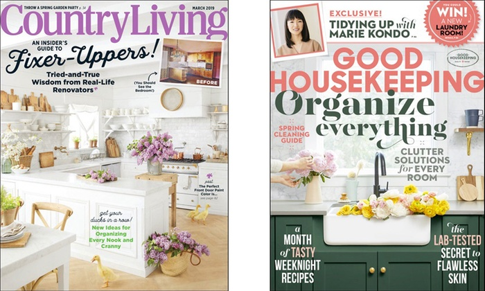 Country Living Good Housekeeping Country Living And Good