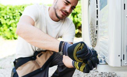 Supply and <strong>Dryer Vent Cleaning</strong> with AC Inspection from Clean Air US (Up to 68% Off)