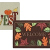 Welcome Home Harvest Doormats