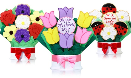 groupon daily deal - Cookie Bouquets from Corso's Cookies (Up to 55% Off). Two Options Available.